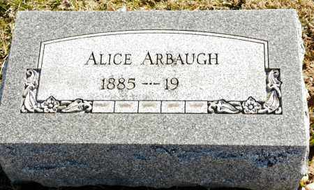 ARBAUGH, ALICE DOLL - Harrison County, Ohio | ALICE DOLL ARBAUGH - Ohio Gravestone Photos