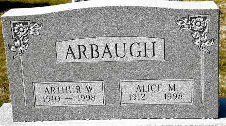 ARBAUGH, ARTHUR W. - Harrison County, Ohio | ARTHUR W. ARBAUGH - Ohio Gravestone Photos