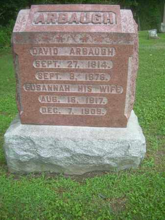 ARBAUGH, SUSANNAH - Harrison County, Ohio | SUSANNAH ARBAUGH - Ohio Gravestone Photos