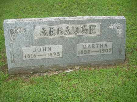 ARBAUGH, MARTHA - Harrison County, Ohio | MARTHA ARBAUGH - Ohio Gravestone Photos