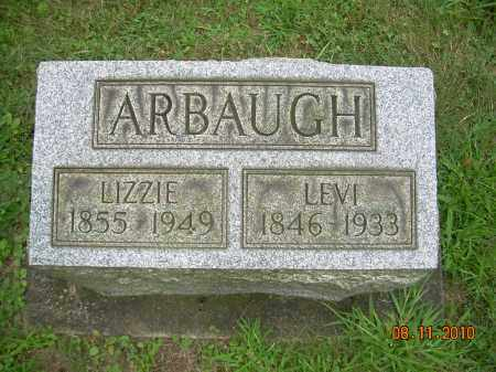 ARBAUGH, LIZZIE - Harrison County, Ohio | LIZZIE ARBAUGH - Ohio Gravestone Photos