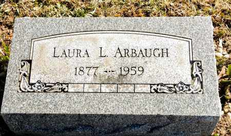 ARBAUGH, LAURA L. - Harrison County, Ohio | LAURA L. ARBAUGH - Ohio Gravestone Photos