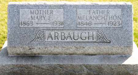 ARBAUGH, MARY E. - Harrison County, Ohio | MARY E. ARBAUGH - Ohio Gravestone Photos