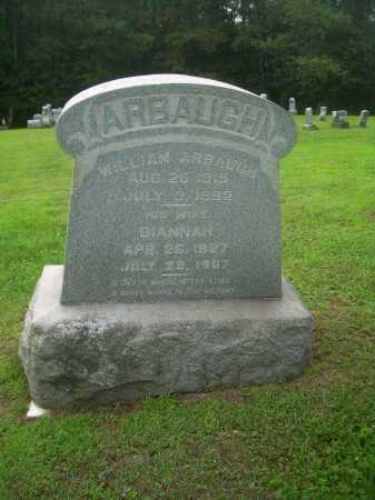 ARBAUGH, WILLIAM - Harrison County, Ohio | WILLIAM ARBAUGH - Ohio Gravestone Photos