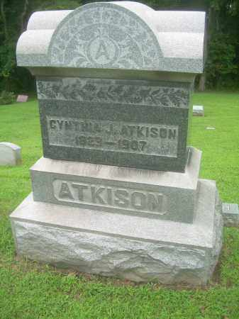 ATKINSON, CYNTHIA J - Harrison County, Ohio | CYNTHIA J ATKINSON - Ohio Gravestone Photos