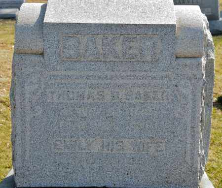 BAKER, THOMAS B. - Harrison County, Ohio | THOMAS B. BAKER - Ohio Gravestone Photos