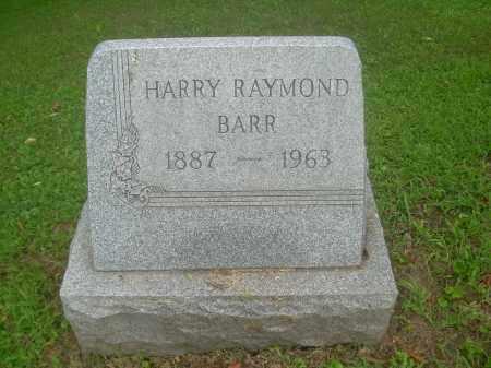 BARR, HARRY RAYMOND - Harrison County, Ohio   HARRY RAYMOND BARR - Ohio Gravestone Photos