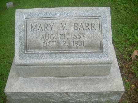 BARR, MARY V - Harrison County, Ohio | MARY V BARR - Ohio Gravestone Photos