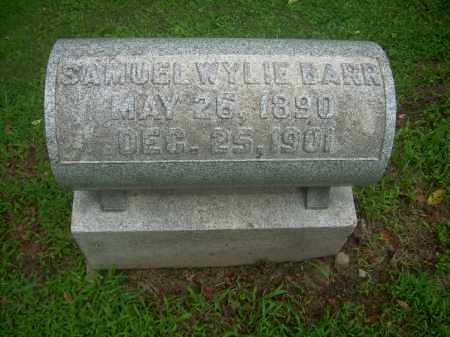 BARR, SAMUEL WYLIE - Harrison County, Ohio | SAMUEL WYLIE BARR - Ohio Gravestone Photos