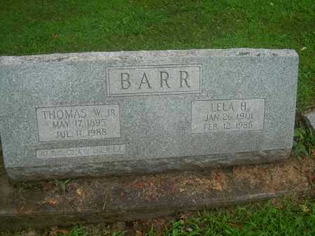 BARR, LELA H - Harrison County, Ohio | LELA H BARR - Ohio Gravestone Photos