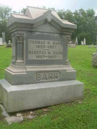 BARR, THOMAS W - Harrison County, Ohio | THOMAS W BARR - Ohio Gravestone Photos