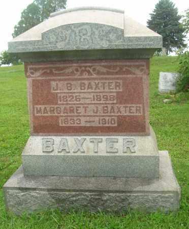 BAXTER, MARGARET J - Harrison County, Ohio | MARGARET J BAXTER - Ohio Gravestone Photos