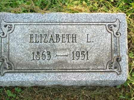 BEADLE, ELIZABETH L - Harrison County, Ohio | ELIZABETH L BEADLE - Ohio Gravestone Photos