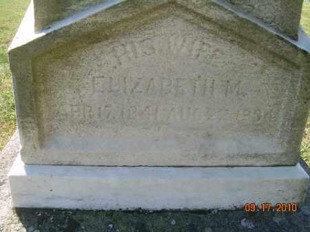 BRICKER BEADLE, ELIZABETH - Harrison County, Ohio   ELIZABETH BRICKER BEADLE - Ohio Gravestone Photos