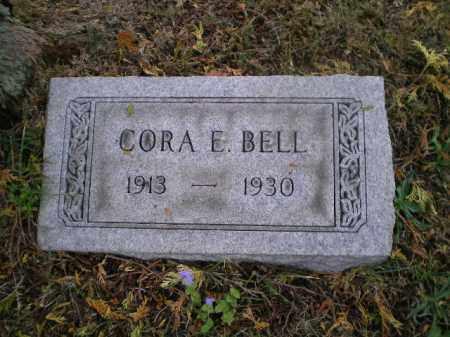 BELL, CORA E - Harrison County, Ohio | CORA E BELL - Ohio Gravestone Photos