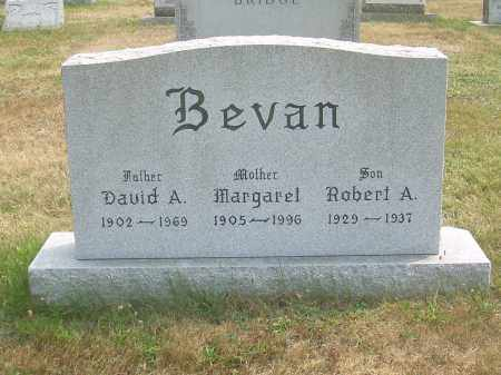 BEVAN, DAVID A - Harrison County, Ohio | DAVID A BEVAN - Ohio Gravestone Photos