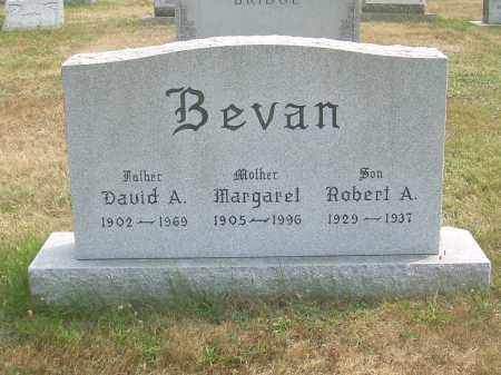 BEVAN, DAVID A - Harrison County, Ohio | DAVID A BEVAN - Ohio Gravestone Photos