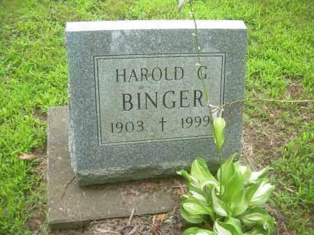 BINGER, HAROLD G - Harrison County, Ohio | HAROLD G BINGER - Ohio Gravestone Photos