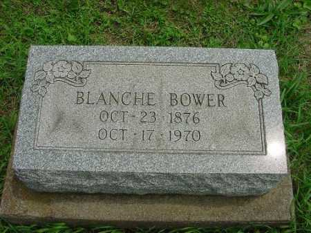 BOWER, BLANCHE - Harrison County, Ohio | BLANCHE BOWER - Ohio Gravestone Photos