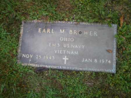 BOWER, EARL M - Harrison County, Ohio | EARL M BOWER - Ohio Gravestone Photos