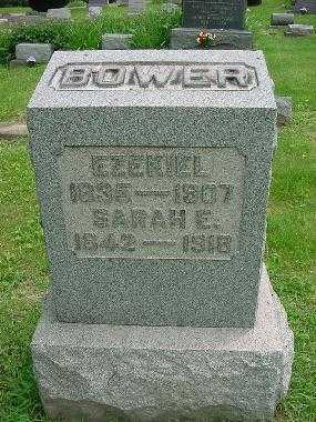BOWER, EZEKIEL - Harrison County, Ohio | EZEKIEL BOWER - Ohio Gravestone Photos