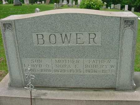 GORDON BOWER, NORA E. - Harrison County, Ohio | NORA E. GORDON BOWER - Ohio Gravestone Photos