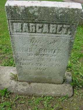 BOWER, MARGARET - Harrison County, Ohio | MARGARET BOWER - Ohio Gravestone Photos