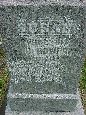 BOWER, SUSAN - CLOSEVIEW - Harrison County, Ohio | SUSAN - CLOSEVIEW BOWER - Ohio Gravestone Photos