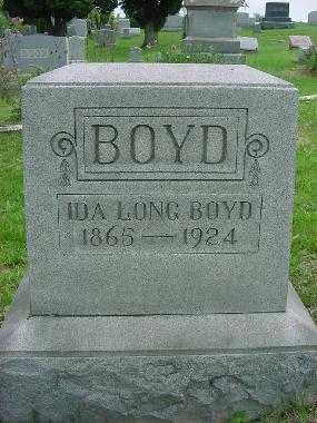 BOYD, IDA LONG - Harrison County, Ohio | IDA LONG BOYD - Ohio Gravestone Photos