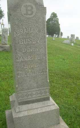 BUSBY, ABRAHAM H - Harrison County, Ohio | ABRAHAM H BUSBY - Ohio Gravestone Photos