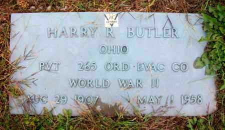 BUTLER, HARRY R - Harrison County, Ohio | HARRY R BUTLER - Ohio Gravestone Photos