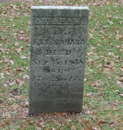 CANAGA, ABRAHAM - Harrison County, Ohio | ABRAHAM CANAGA - Ohio Gravestone Photos