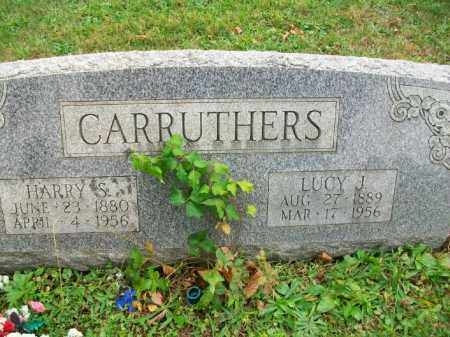 CARRUTHERS, HARRY S - Harrison County, Ohio | HARRY S CARRUTHERS - Ohio Gravestone Photos