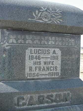 CARSON, LUCIUS - Harrison County, Ohio | LUCIUS CARSON - Ohio Gravestone Photos