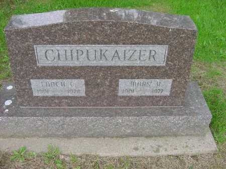 CHIPUKAIZER, MARY - Harrison County, Ohio | MARY CHIPUKAIZER - Ohio Gravestone Photos