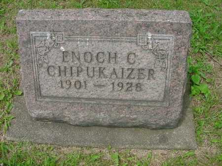CHIPUKAIZER, ENOCH C. - Harrison County, Ohio | ENOCH C. CHIPUKAIZER - Ohio Gravestone Photos