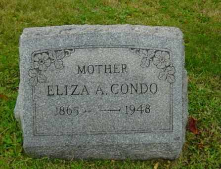 MARKLEY CONDO, ELIZA A. - Harrison County, Ohio | ELIZA A. MARKLEY CONDO - Ohio Gravestone Photos