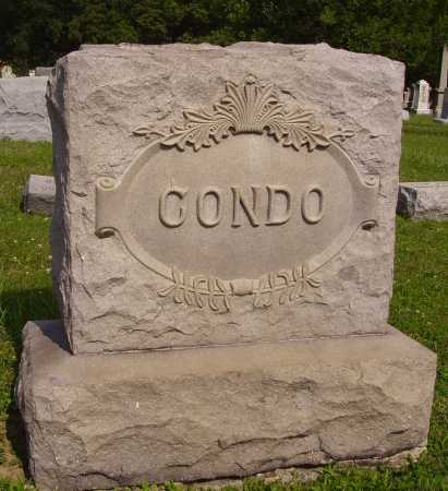 CONDO FAMILY, MONUMENT - 1 - Harrison County, Ohio | MONUMENT - 1 CONDO FAMILY - Ohio Gravestone Photos
