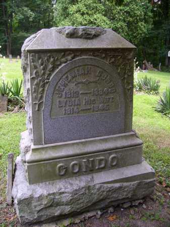 CONDO, JEREMIAH - Harrison County, Ohio | JEREMIAH CONDO - Ohio Gravestone Photos