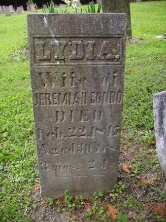 CONDO, LYDIA - ORIGINAL STONE - Harrison County, Ohio | LYDIA - ORIGINAL STONE CONDO - Ohio Gravestone Photos