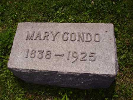 CONDO, MARY - Harrison County, Ohio | MARY CONDO - Ohio Gravestone Photos
