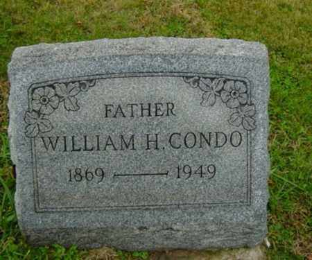 CONDO, WILLIAM H. - Harrison County, Ohio | WILLIAM H. CONDO - Ohio Gravestone Photos