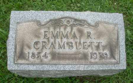 COLE CRAMBLETT, EMMA R - Harrison County, Ohio | EMMA R COLE CRAMBLETT - Ohio Gravestone Photos