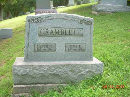 CRAMBLETT, OTIS E - Harrison County, Ohio | OTIS E CRAMBLETT - Ohio Gravestone Photos