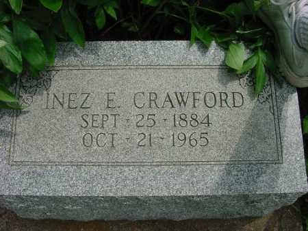 CRAWFORD, INEZ E. - Harrison County, Ohio | INEZ E. CRAWFORD - Ohio Gravestone Photos