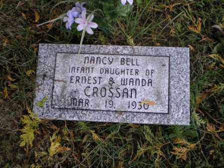 CROSSAN, NANCY BELL - Harrison County, Ohio | NANCY BELL CROSSAN - Ohio Gravestone Photos