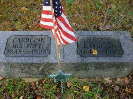 HOWES DAVIDSON, CAROLINE - Harrison County, Ohio | CAROLINE HOWES DAVIDSON - Ohio Gravestone Photos