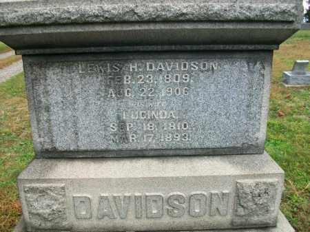 LATHAM DAVIDSON, LUCINDA - Harrison County, Ohio | LUCINDA LATHAM DAVIDSON - Ohio Gravestone Photos