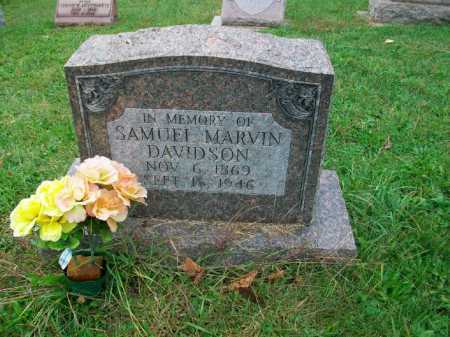 DAVIDSON, SAMUEL MARVIN - Harrison County, Ohio | SAMUEL MARVIN DAVIDSON - Ohio Gravestone Photos