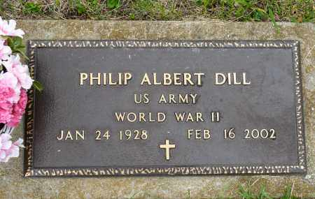 DILL, PHILIP ALBERT - Harrison County, Ohio | PHILIP ALBERT DILL - Ohio Gravestone Photos
